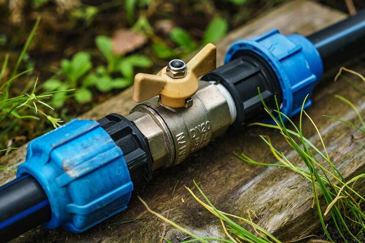 Water mains stopcock