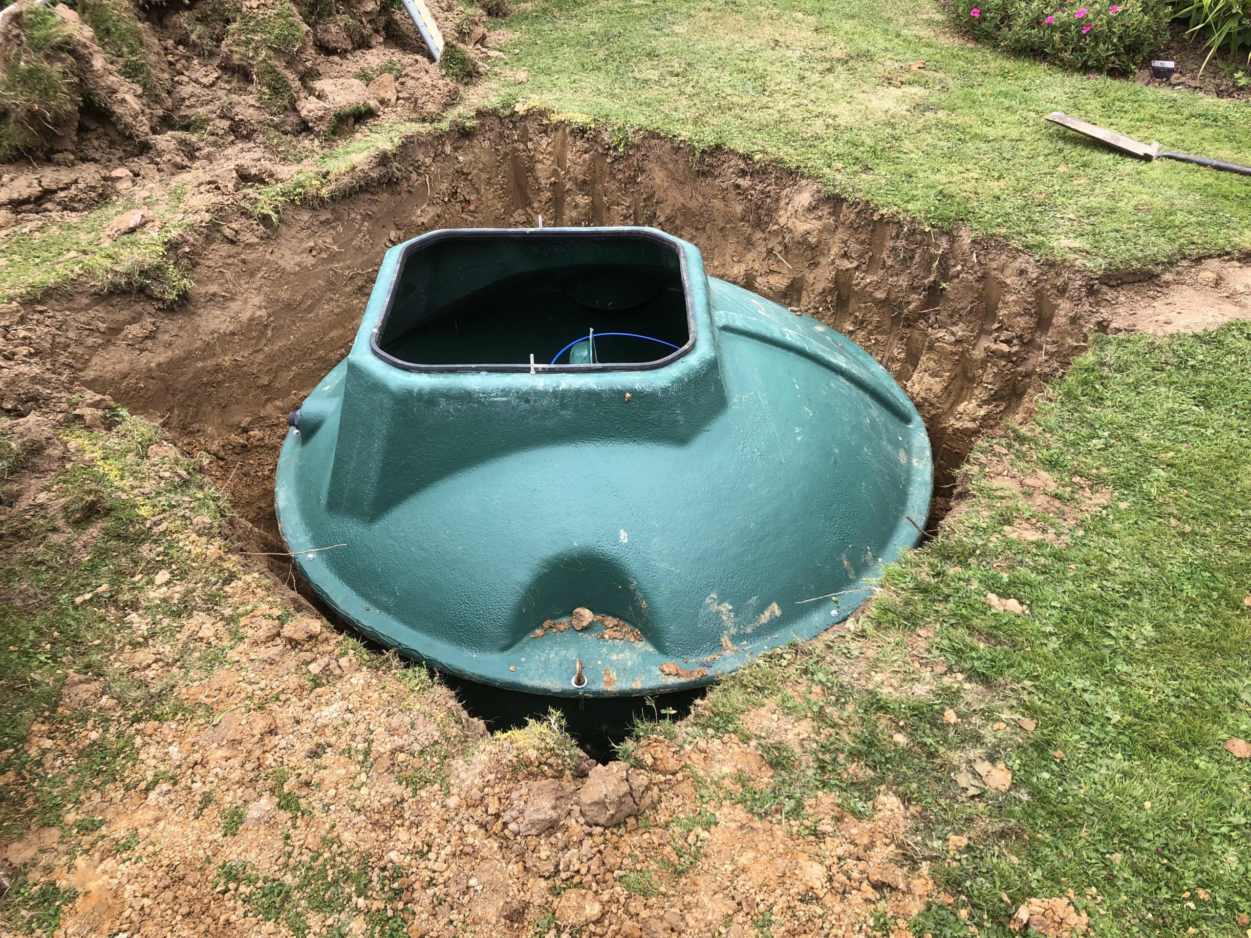 biopure sewage treatment plant installation east sussex