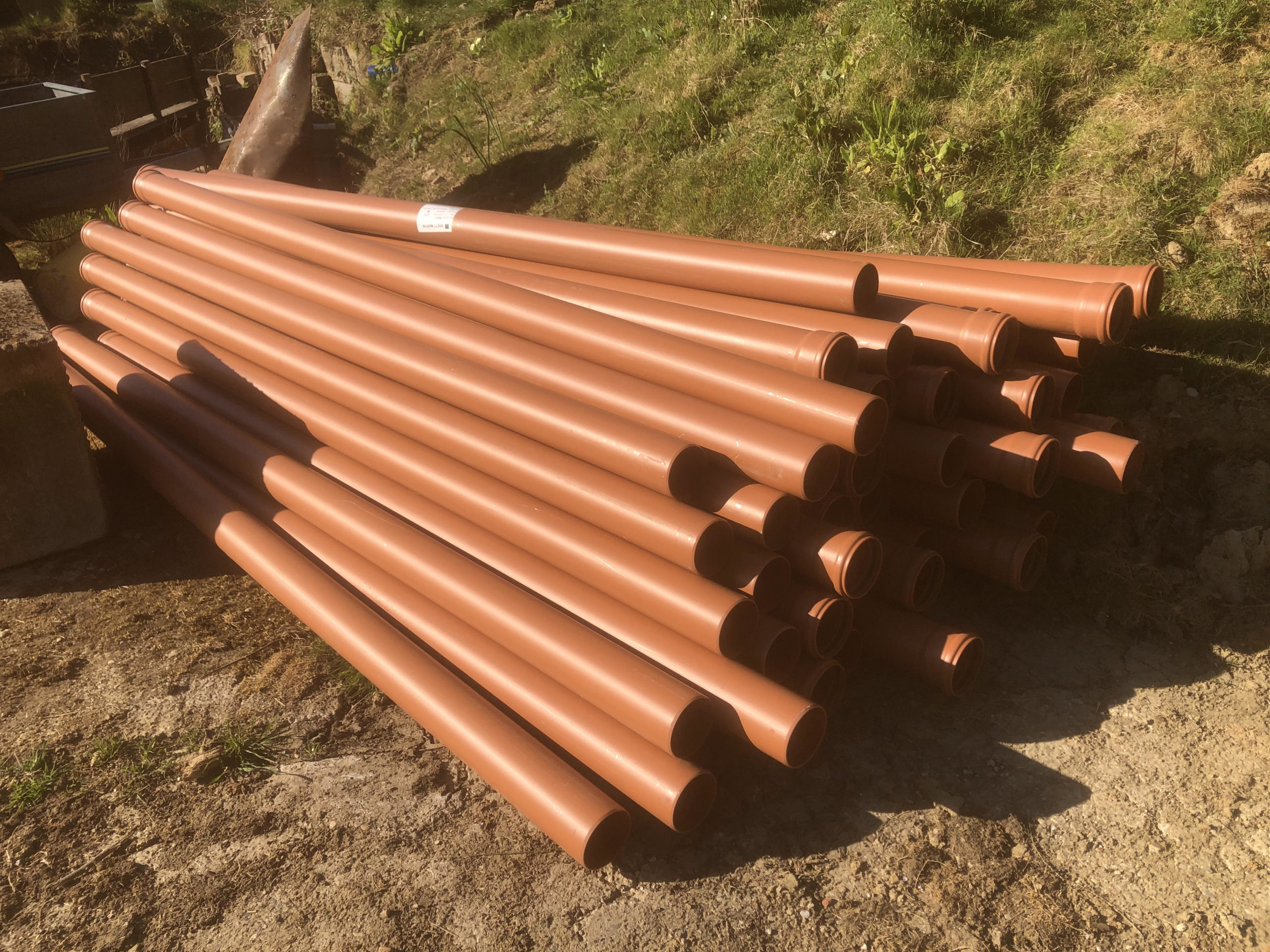 sussex water & drainage fresh pipe delivery